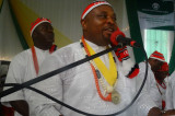 Swearing-in of the 9th International President of Mboho Mkparawa Ibibio