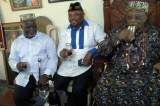 Mboho Mkparawa Ibibio on a Courtesy Visit to Ntisong E U Ekidem