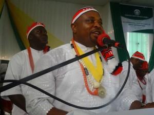 Swearing-in of the 9th International President of Mboho Mkparawa Ibibio