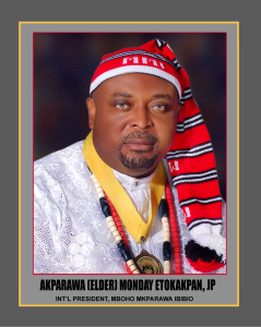 Akparawa (Elder) Monday Etokakpan, JP