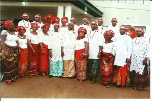 Cross Section of the Chapter Members